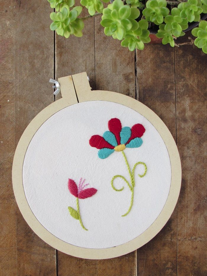 Bordado Mexicano + Patrón: I Love Purpura | Hand embroidery ...
