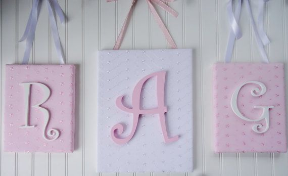 25+ Best Ideas About Wooden Letters For Nursery On