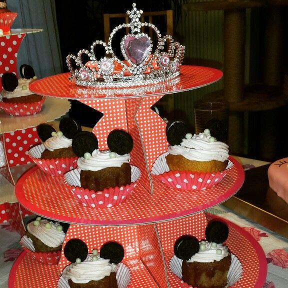 Cupcake Minnie Mouse
