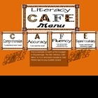 """These posters are for teachers who are implementing the Literacy Cafe by """"The 2 Sisters"""" Gail Boushey and Joan Moser and want to spice up their caf..."""