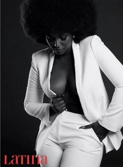 Latina Ebony Dark Color And Beautiful Forms Page