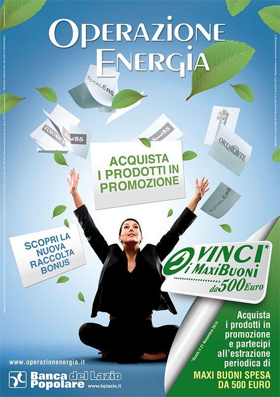 #concorso #bpl Banca Popolare del Lazio #2013 #operazionenergia