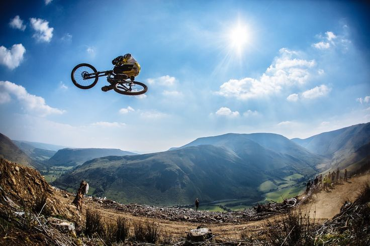 The world's best mountain bike riders take on one of the most difficult downhill runs ever created.