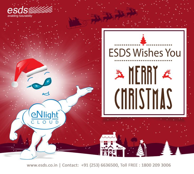 ESDS wishes You #MerryChristmas! #xmas #Christmas #greetings