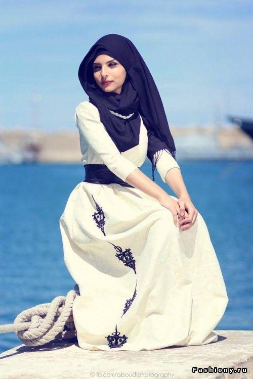 Хиджаб - это красиво. Стиль от Shamshom Brunette