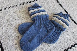 Ridged socks
