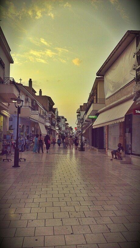 #Lithostroto #market street in #Argostoli, #Kefalonia