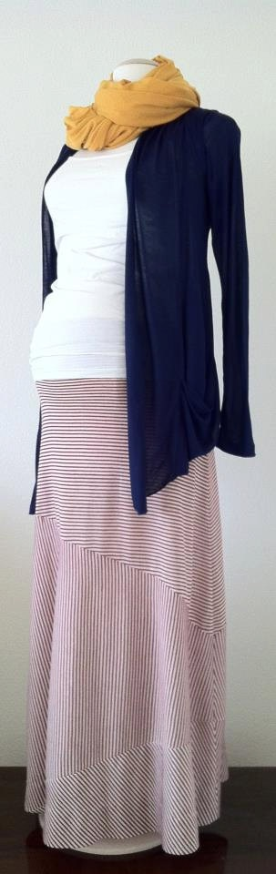 The Nautical Maxi Maxine Maternity XS S M L by DaintyButton, $43.95