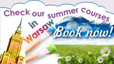 Polish for foreigners, Polish courses warsaw, learn Polish warsaw, Polish online, Polish language