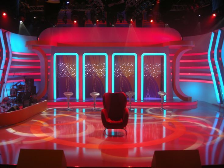 Game show stage design google search game show ref for Find and design tv show