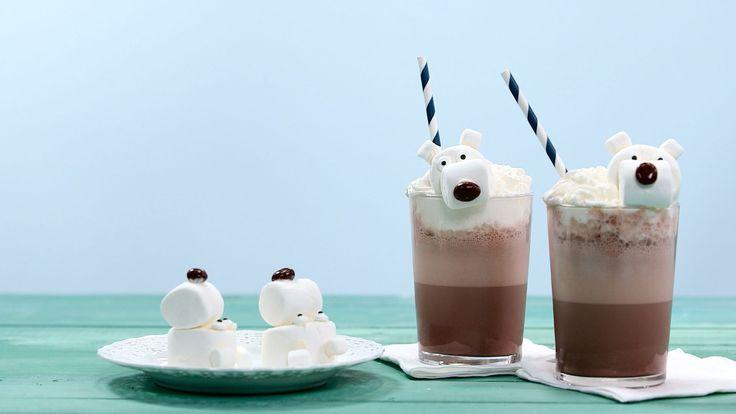 Polar Bear Frozen Hot Chocolate