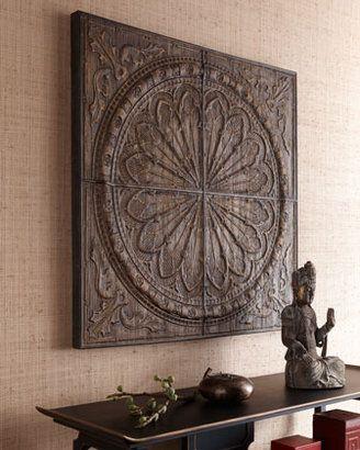 http://www.pinterest.com/joliesarts/ ∗ »☆Elysian-Interiors ♕Simply divine #Interiordesign ~ Chinese ~ Asian ~ furniture ~ table ~ Callimus Wall Decor