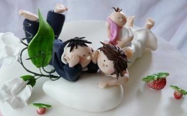 Hochzeitstorten von suess-und-salzig: originell, witzig und besonders ...