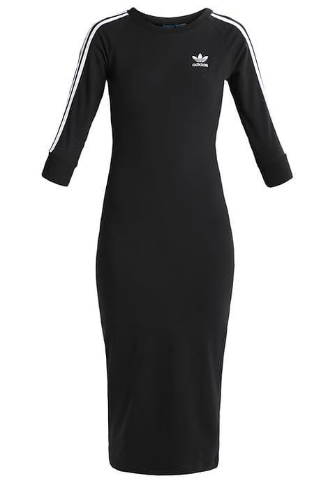Vêtements adidas Originals Robe en jersey - black noir: 59,95 € chez Zalando (au 02/02/17). Livraison et retours gratuits et service client gratuit au 0800 915 207.