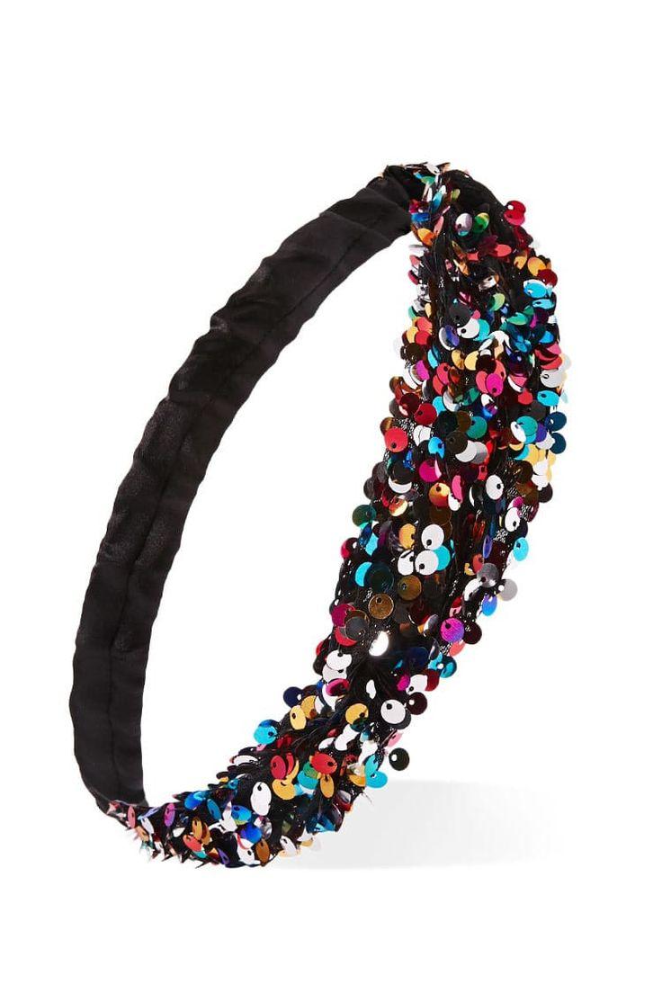 J2017  Multicolor Sequin Headband