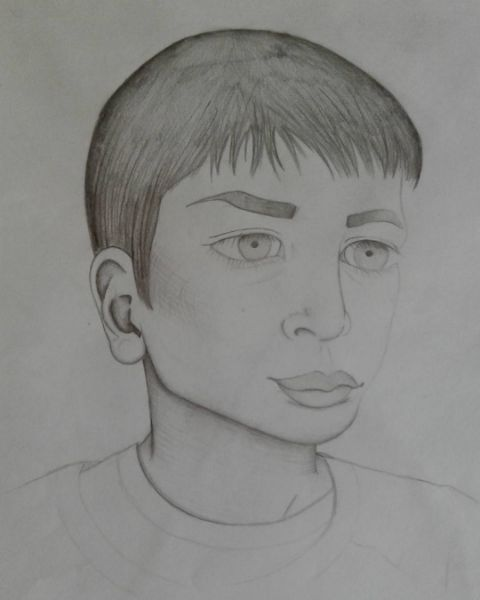 #Portrait of my little brother circa 2015 #art #drawing