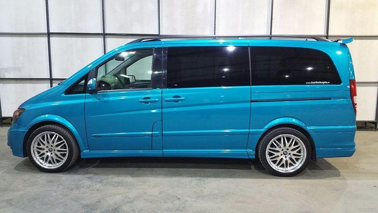 Nyt myynnissä Mercedes-Benz Viano ART V6 3.0 CDI Autom. Vaihto aitoon AMG / MB harrasteautoon. Rahoitus., 178 500 km, 2008 - Kangasala. Klikkaa tästä kuvat ja lisätiedot vaihtoautosta.