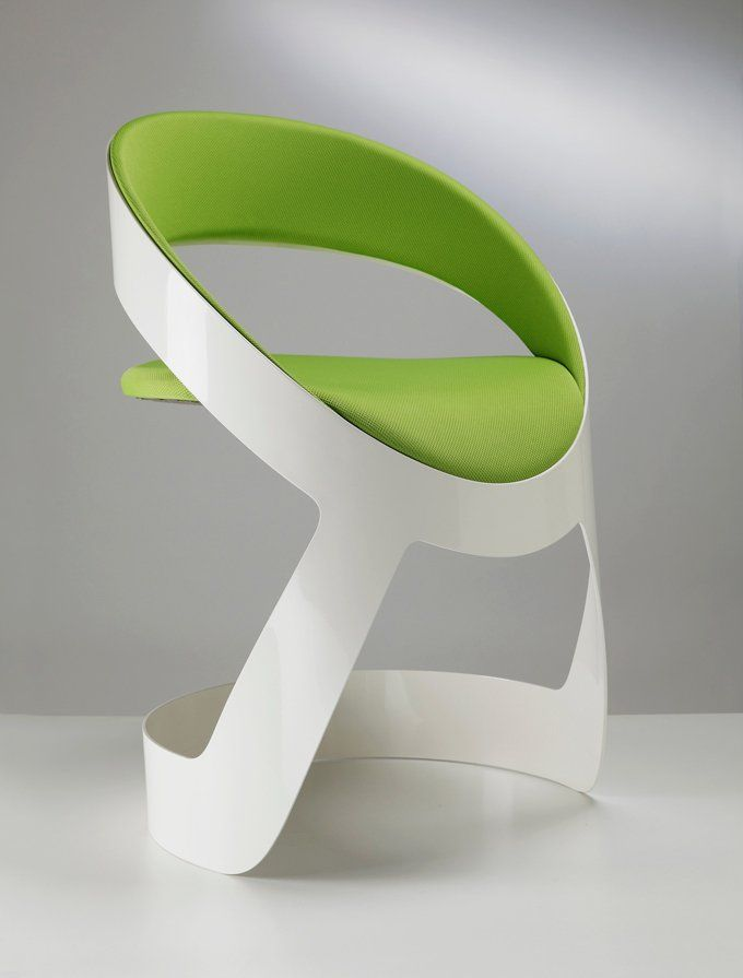 Contemporary Chair in Original Design. would love this in pale pink for my kitchen desk chair.
