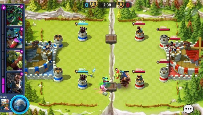 castle creeps battle is