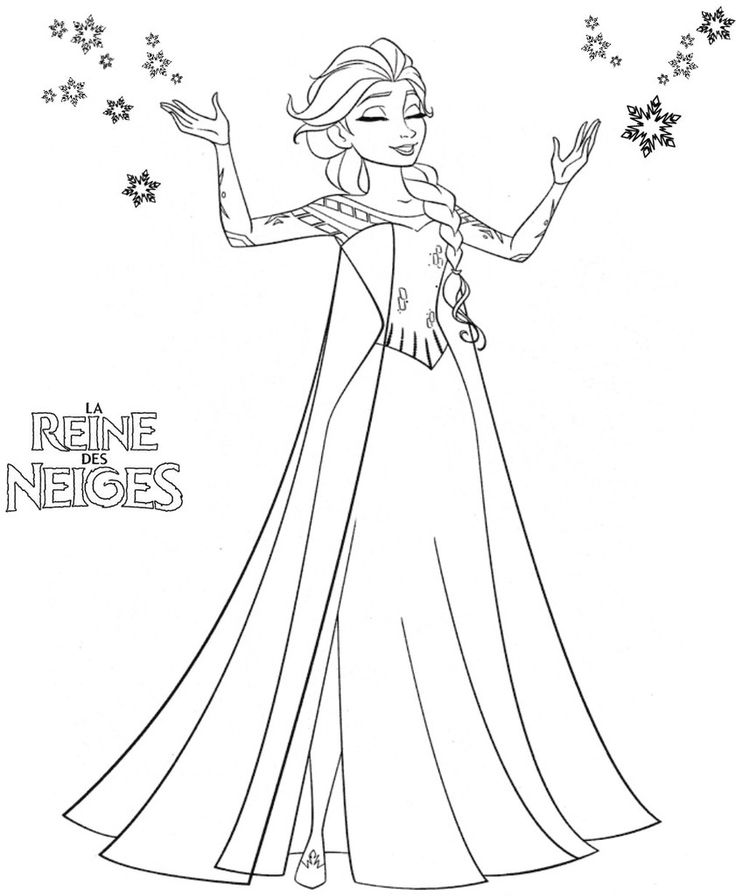 Frozen Coloring Pages For Kids 50