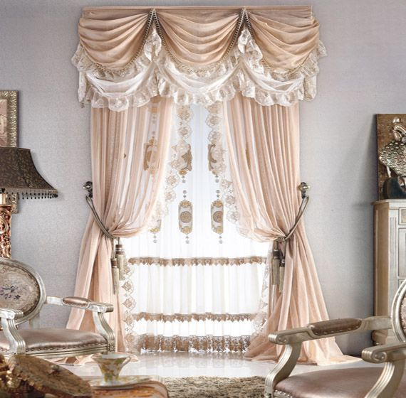 Affordable Custom Luxury Window Curtains Drapes Valances