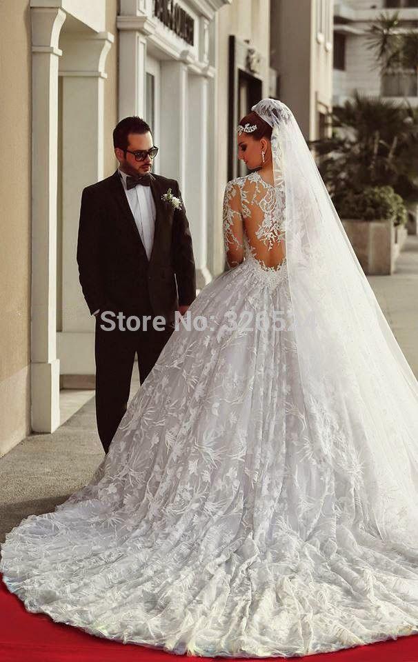 vestidos de noiva princesas luxuosos do mundo - Pesquisa Google