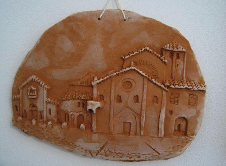 I love Bologna- Santo Stefano bassorilievo di terracotta.