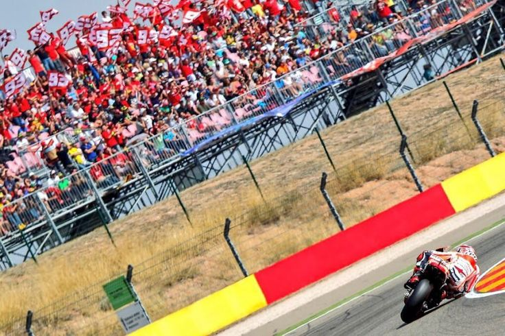 Marc Marquez y su curva