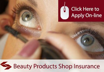 beauty products shop insurance