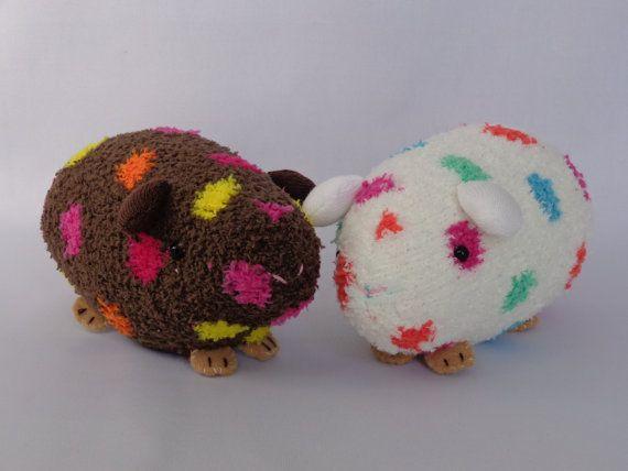 Guinea Pig Plush Toy, Guinea Pig Stuffed Animal, Stuffed Doll, Sock Monkey, Sock Toy. $24.98, via Etsy.