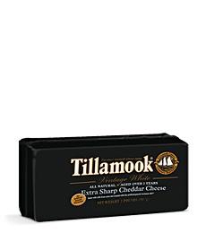 Tillamook Vintage White extra sharp cheddar cheese