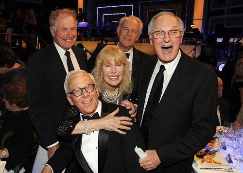Wayne Rogers, Mike Farrell, Alan Alda, Loretta Swit and William Christoper by insidecelebpics, via Flickr
