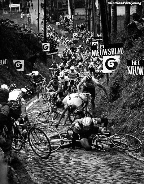 Tour of Flanders - the Koppenberg climb