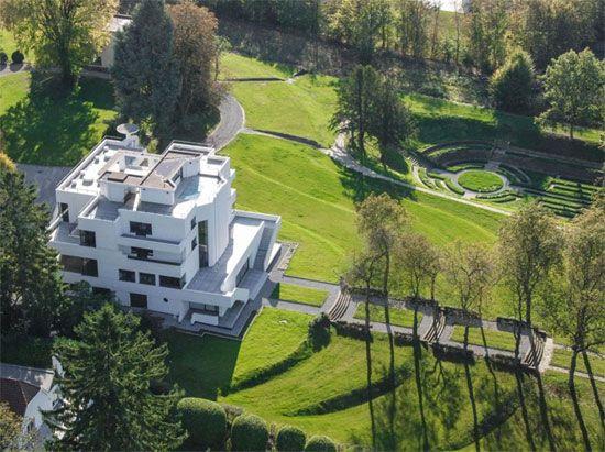 Marcel Leborgne - La Villa Dirickz in Sint-Genesius-Rode, Belgium.