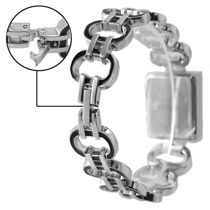 FW644B Piazza PNP Shiny Silver cassa dell'orologio Silver Dial signore delle donne braccialetto di vigilanza