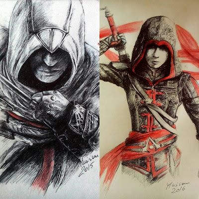 AMAZING #AssassinSCreed Art by Musiriam!