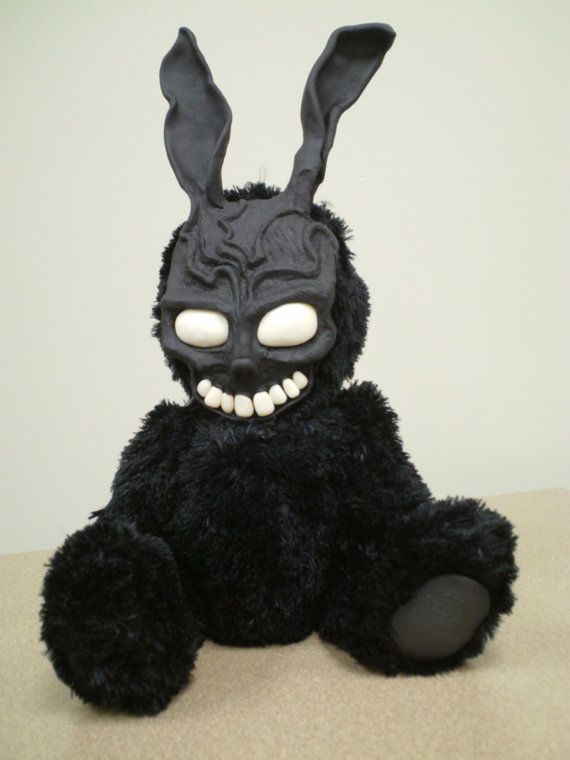 I found this looking at Reborns dolls on Etsy. It's a tiny Donnie Darko rabbit doll and it's much, much less creepy than any given Reborns doll.