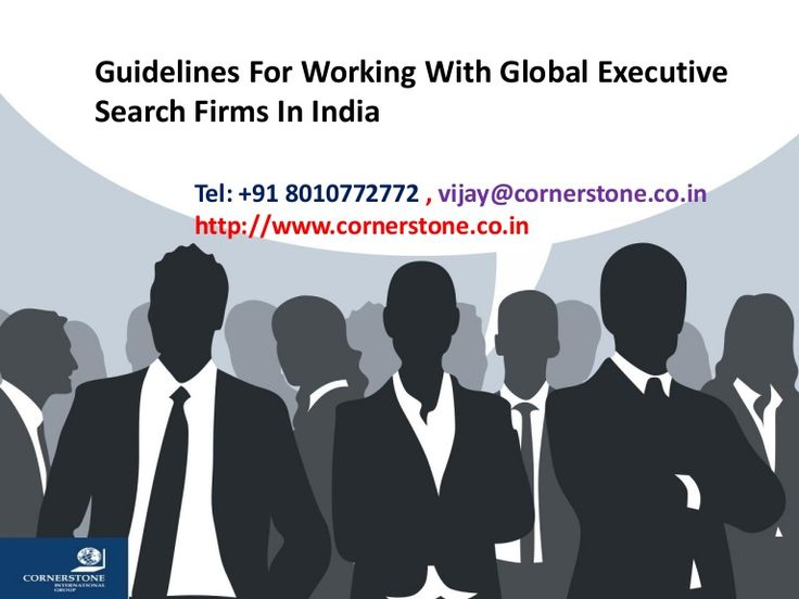 Guidelines For Working With Global Executive Search Firms In India  >>> These days one name that is doing the rounds in the minds of every job seeker is to get the right global executive search firm in India for them, which can help them find the right job that will help them grow. But because of the extensive presence of such firms, getting the right ones, seems to be an onerous task.    #GlobalExecutiveSearchFirms