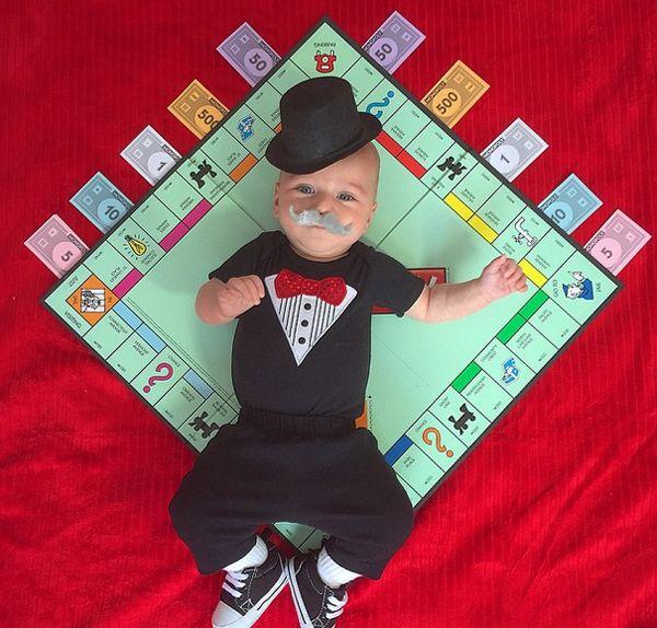 Un costume al giorno: questo bambino si sta preparando al suo primo Halloween