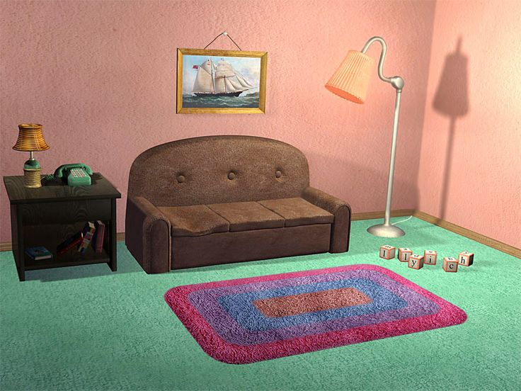 Marvelous Simpsons TV Room By Ilyich.deviantart.com On @DeviantArt