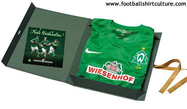 Werder Bremen 2012 Nike Christmas Football Shirt // brilliant idea,
