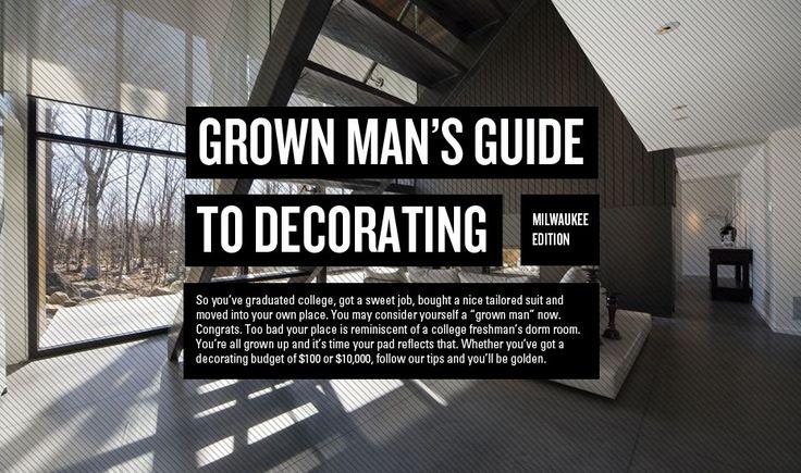 9 Simple Man Decorating Inspiration Portraits   Home Decor Ideas    Pinterest   Decorating and Inspiration