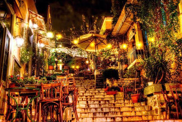 Mnisikleous. Calles más bonitas de Europa ATENAS
