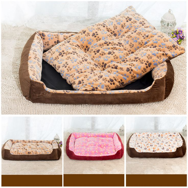 2016 new fashion 3 colors option Pet Mat washable cat kennel small and large dog bed pet nest dog mat XS S M L XL XXL dog bed #Affiliate