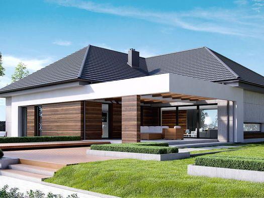 Projekt - HomeKoncept 26 - mieszkalny - otoDom.pl