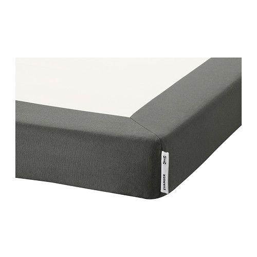 EVANGER Base de colchón IKEA Como la funda se puede quitar y lavar a máquina, es fácil de limpiar. A juego con el colchón de muelles embolsados HÖVÅG.