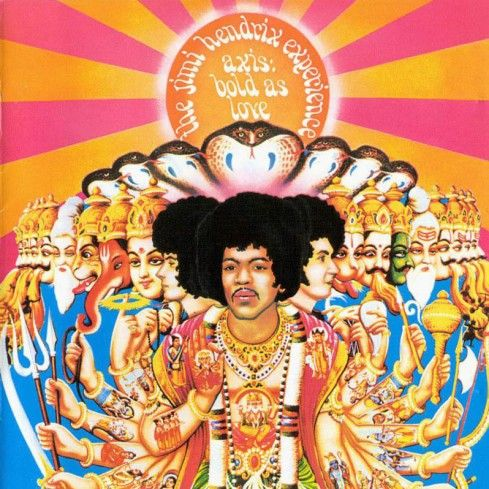 The Jimi Hendrix Experience's 'Axis Bold As Love'.
