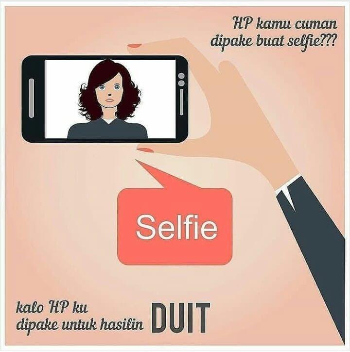Daripada Hp Buat Selfie Doang Mending Buat Hasilin Duit Ini Era Digital Jaman Nya Sudah Canggih Hampir Setiap Org Bsa Memanfaatk Youtube Aplikasi Gadget
