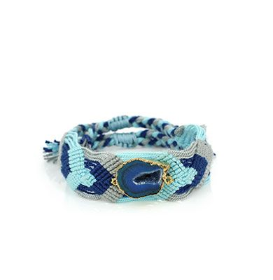 Wayuu Armband met Edelsteen 118 - €39,95