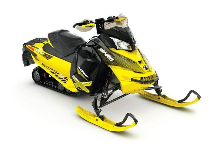 Ski Doo Mx Z X Rotax 800r E Tec Sunburst Yellow St